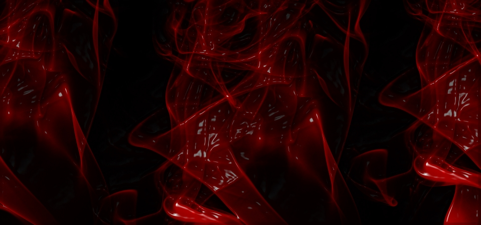 Abstract Red Bloody Paint Smoke Effect Trendy Background