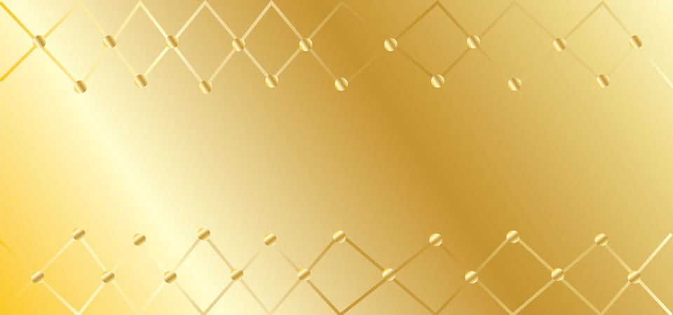 Beautiful Gold Background With Circles And Ornament In