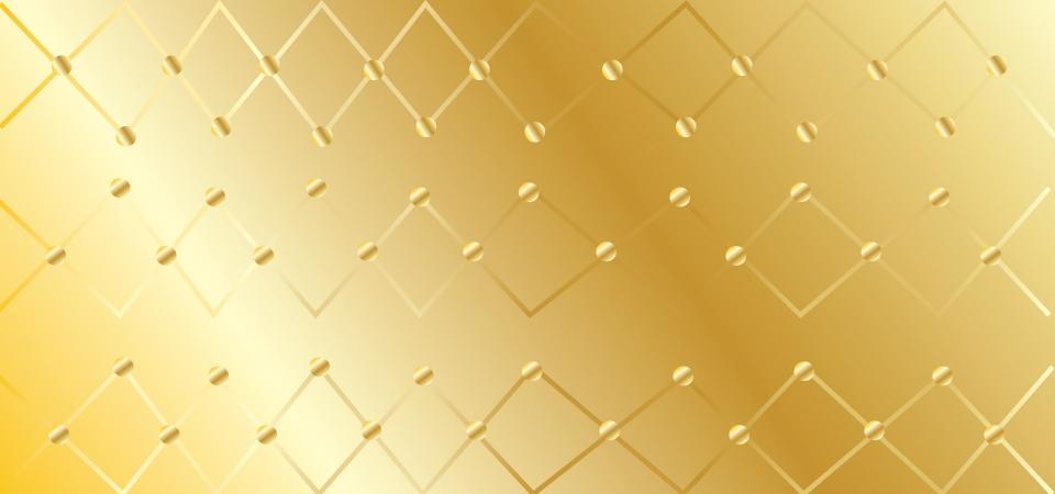 جميلة الذهب الصف الخلفية مع الدوائر والزخرفة في اللون الذهبي