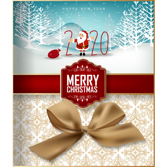 Merry Christmas 2020 Christian Happy New Year 2020 Merry Christmas, Baubles, Brochure, Card