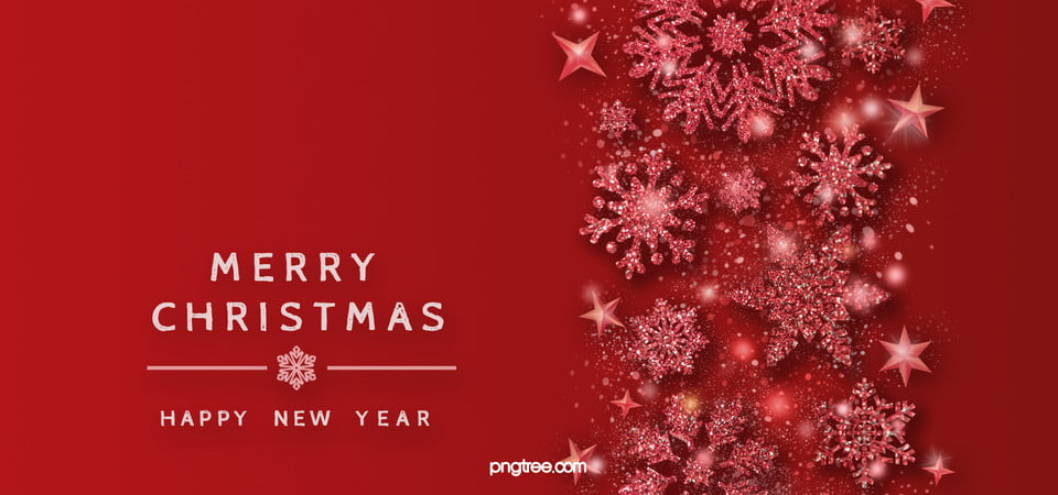 Christmas Texture.Red Texture Light Effect Snowflake Christmas Background