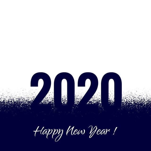 2020 New Year Card Beautiful Design, 2020, Year, Calendar ...