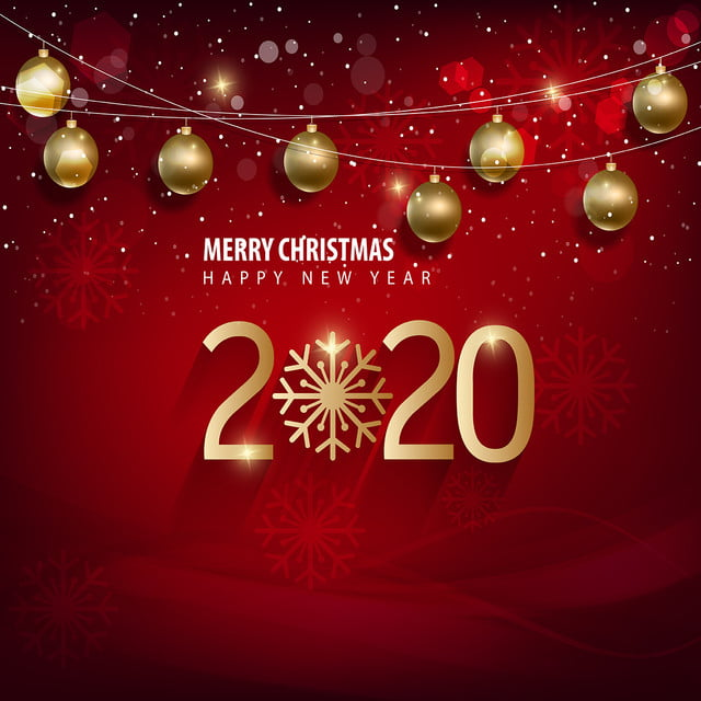 2020 Merry Christmas Background, 2020, 2020 New Year, Background