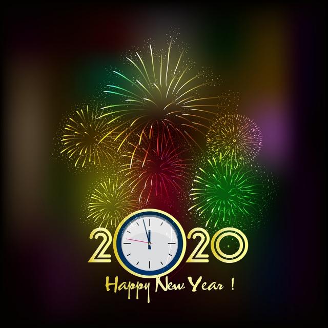 Обои новый год 2020 крыса