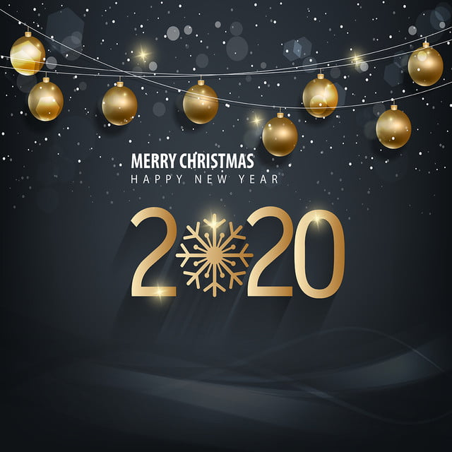 Christmas 2020.Happy Merry Christmas 2020 2020 New Year Background