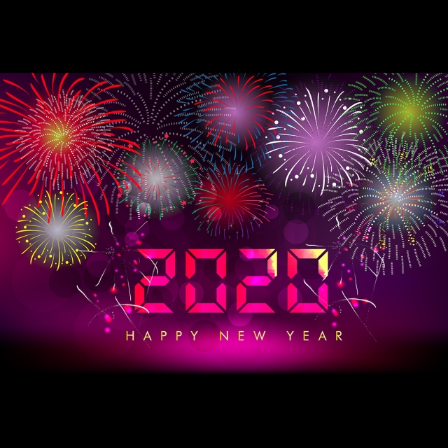 Happy New Year 2020 Celebration, 2020, 2020 New Year