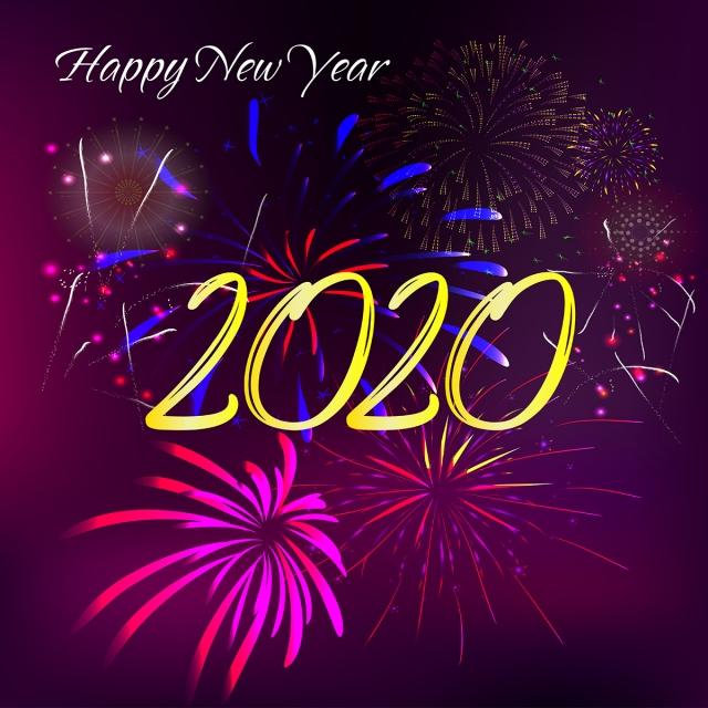 Calendrier Feu D Artifice 2020.Bonne Annee 2020 Feu D Artifice 2020 Lannee 2020 Nouvelles