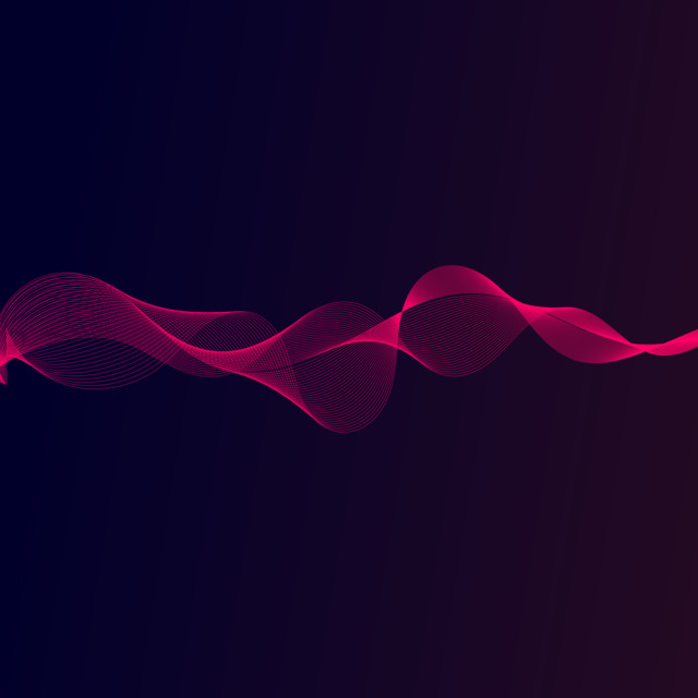 Abstract Wireframe Future And Cool Gradient Background