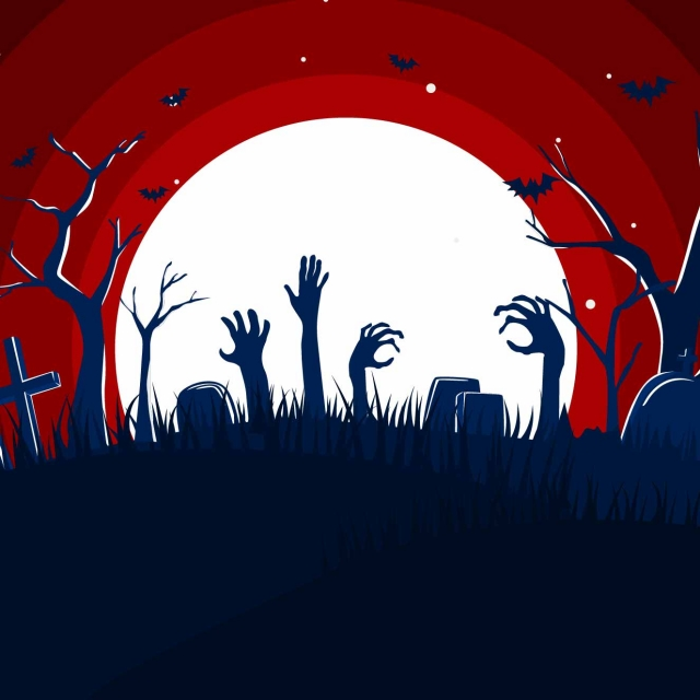 Flat Design Spooky Halloween With Scarry Zombie Hand Graveyard Background Flat Banner Halloween Background Image For Free Download Download the free graphic resources in the form of png, eps, ai or psd. https pngtree com freebackground flat design spooky halloween with scarry zombie hand graveyard background 1164485 html