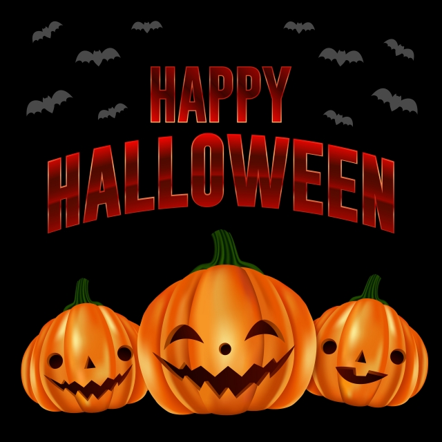 Happy Halloween Greetings And Cute Pumpkins Halloween Halloween Party Character Background Image For Free Download