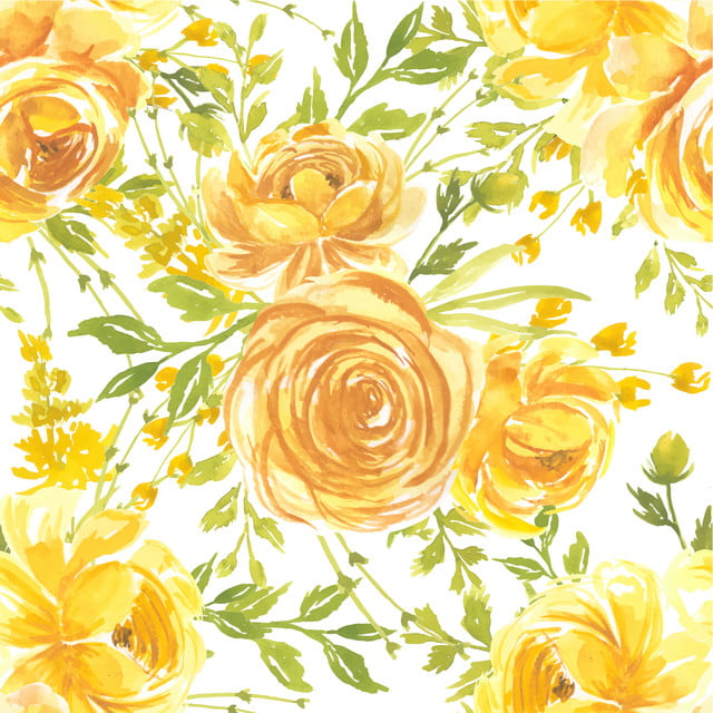 seamless pattern watercolor flower rose yellow pattern floral watercolor background image for free download https pngtree com freebackground seamless pattern watercolor flower rose yellow 1166699 html