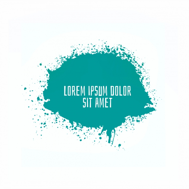 Modern Green Color Splash Design Background Happy Holi