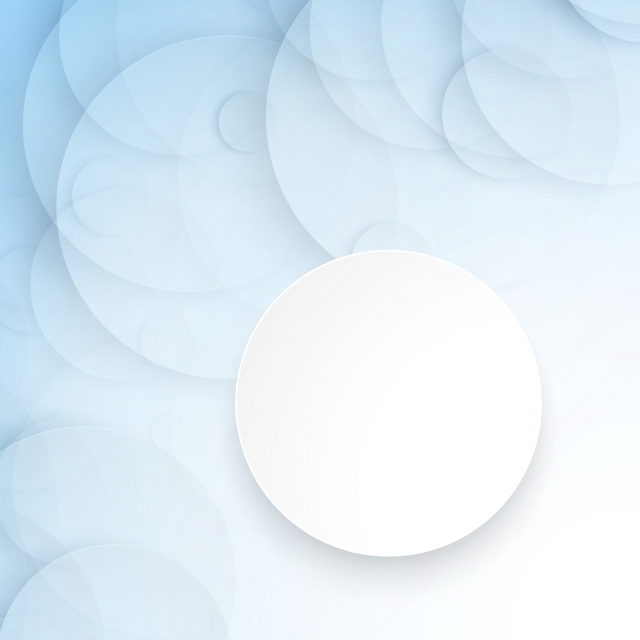 Logo Mockup White Paper In Shadow:  White Blue Flyer Transparent Paper Circle Frame