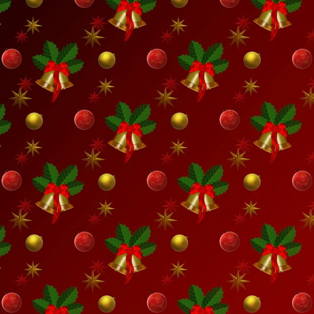 Red Golden Christmas Wrapping Paper Christmas Wrapping Paper Gift Paper Background Image For Free Download