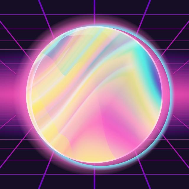 pngtree s background vector for trendy modern design neon presentation rainbow illustration image 319913