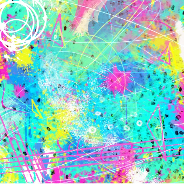 Wild Eighties Inspired Paint Background Abstract 80 S Funky Background Image For Free Download