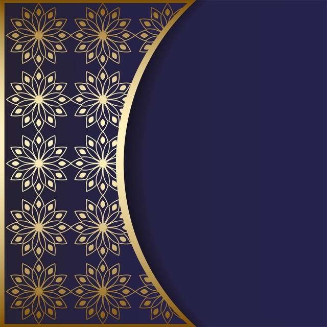 Mandala Dark Blue Background Png Mandala Wedding