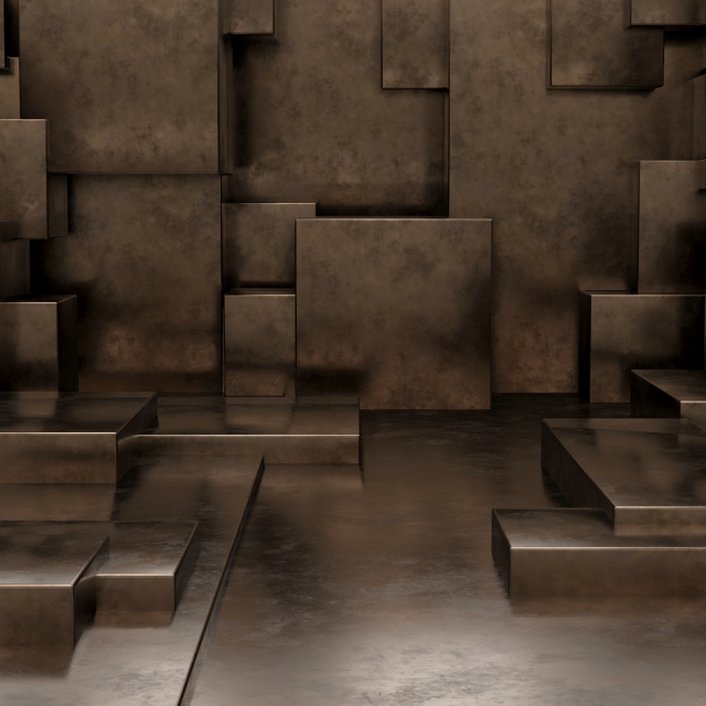 pngtree render of 3d geometric abstract cuboid wallpaper background image 322421
