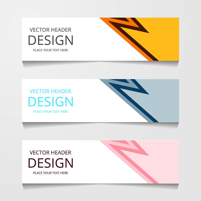 Abstract Web Banner Design Background Or Header Templates Web Graphic Business Background Image For Free Download