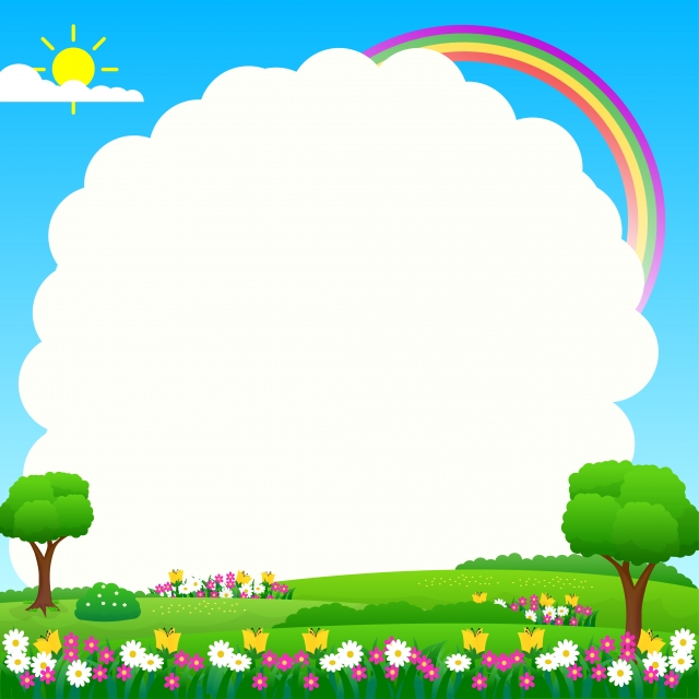 Nature Landscape Background With Funny Design Suitable For Kids Nature Background Funny Background Image For Free Download