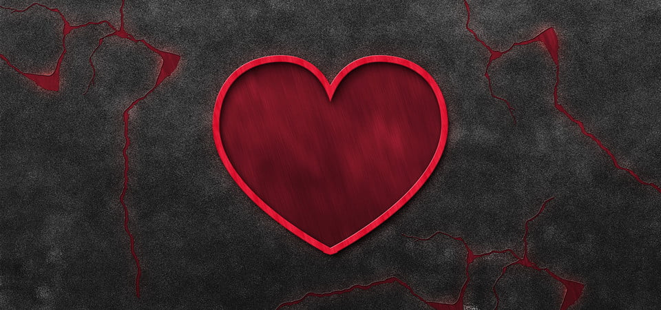 Heart Crack In Concrete Wall Wall Vintage Background Background Image For Free Download