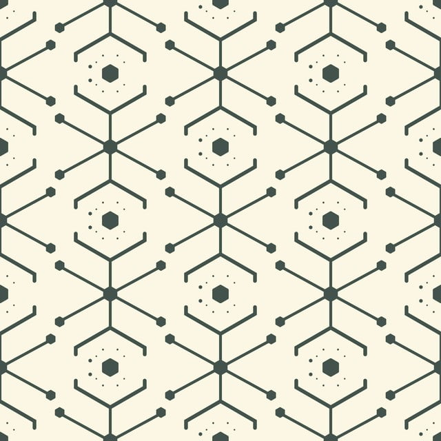 Abstract black seamless geometric texture Futuristic pattern with geometry 3d effect For background and wrapping PNGEPSJPEG.