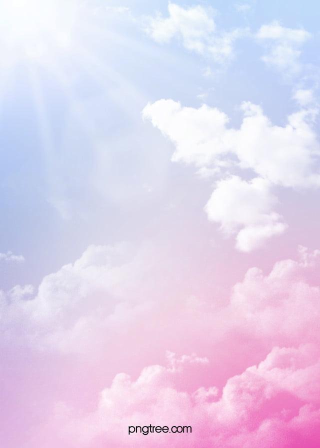 Warna Latar Belakang Awan Tekstur Kreatif, Cloud Cluster, Gradient,  Romantic Gambar Latar Belakang Untuk Unduhan Gratis