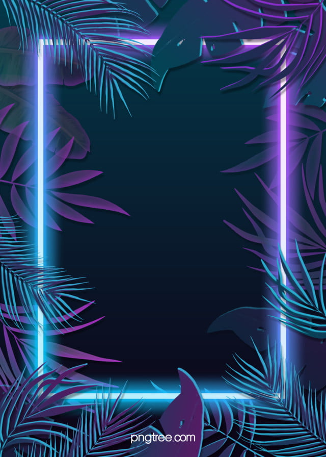 Tropical Plants Blue Purple Neon Effect Leaves Background Tropical Plants Leaf The Neon Lights Background Image For Free Download Green neon lights frame with tropical leaves mockup design. https pngtree com freebackground tropical plants blue purple neon effect leaves background 1173624 html