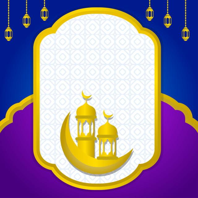 Latar Belakang Islam Dengan Warna Ungu Dan Biru, Islamic, Background,  Ramadan Gambar Latar Belakang Untuk Unduhan Gratis