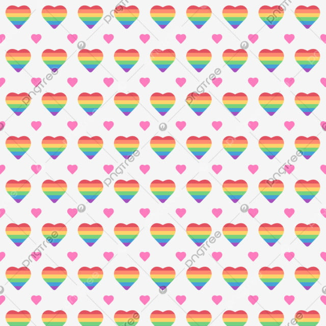 Rainbow Heart Background Lgbt Pride Day Colorful Wallpaper Red Orange Yellow Green Blue Purple Icon Yellow Red Background Image For Free Download