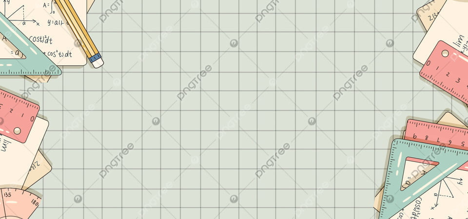 Cute Hand Drawn Style Math Education Plaid Background Lovely Hand Drawn Style Mathematics Background Image For Free Download