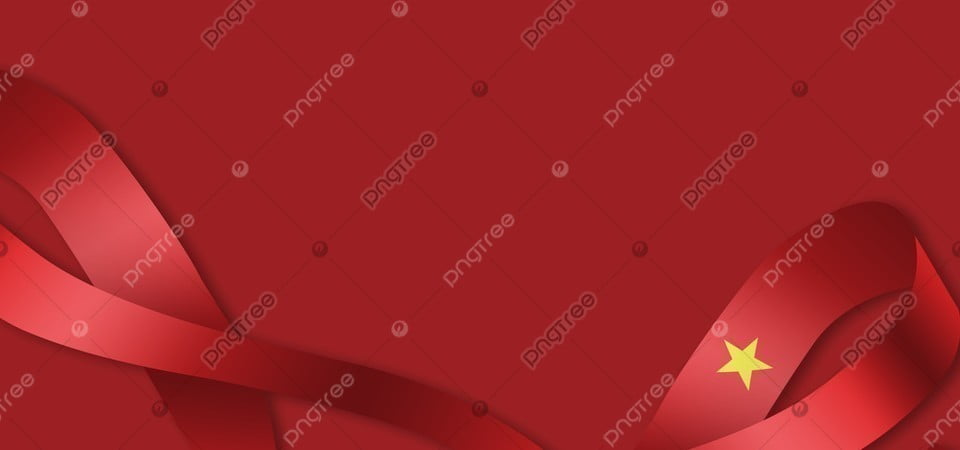 Vietnam Red Ribbon Flag Surrounding Background Vietnam Independence Day Liberation Day Background Image For Free Download