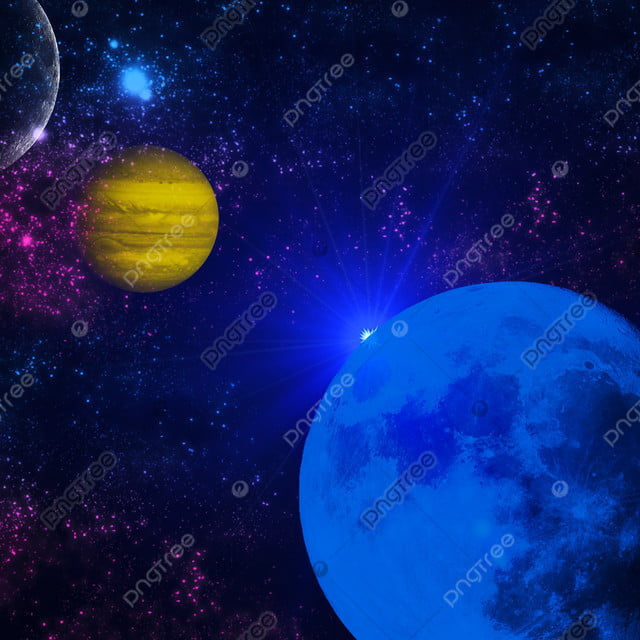 pngtree deep space planets awesome science fiction wallpaper cosmic landscape image 341512
