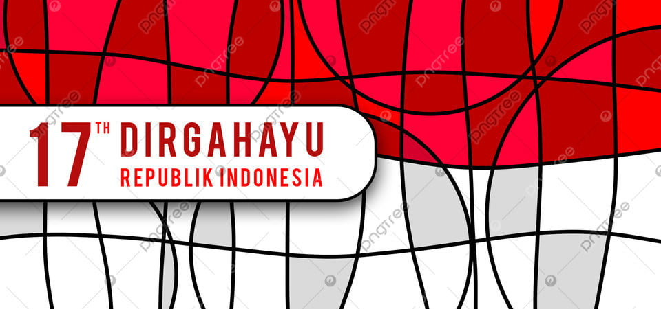 pngtree abstract mosaic red white indonesia independence day image 351527
