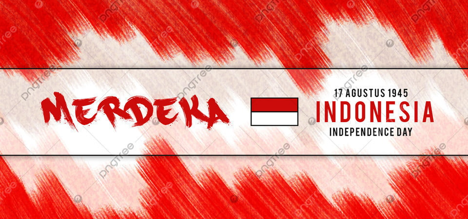 pngtree indonesia independence day merdeka merah putih background image 351533