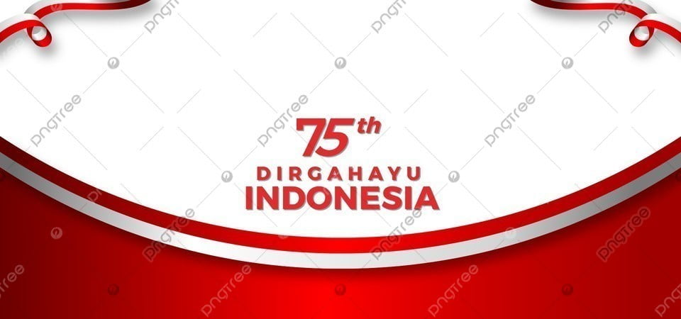 pngtree 75 tahun indonesia merdeka background white and red color image 353190