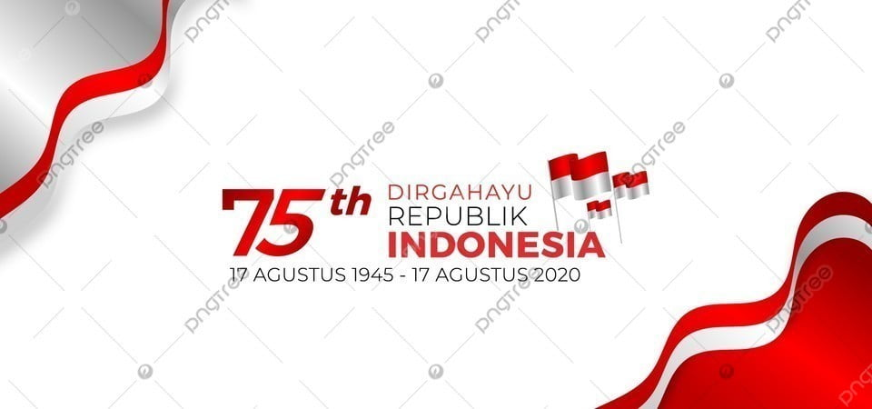 pngtree background 75 tahun dirgahayu republik indonesia bendera merah putih image 353159