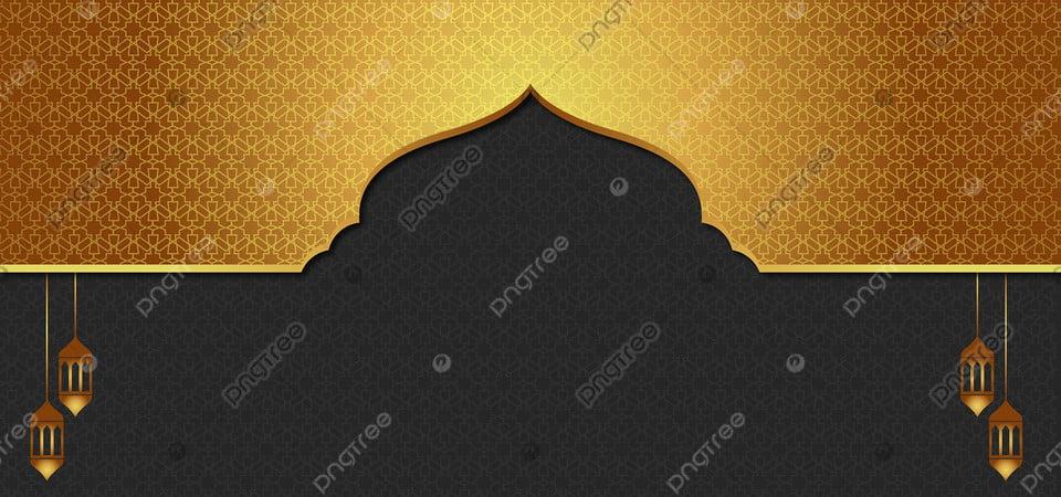 Eid Al Adha Islamic Gold Background Dengan Pola Emas, Islam, Latar  Belakang, Haji Gambar Latar Belakang Untuk Unduhan Gratis