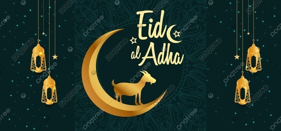 eid al adha mubarak gold moon lamp with goat background eid ul adha colorful eid al adha background image for free download https pngtree com freebackground eid al adha mubarak gold moon lamp with goat background 1181236 html