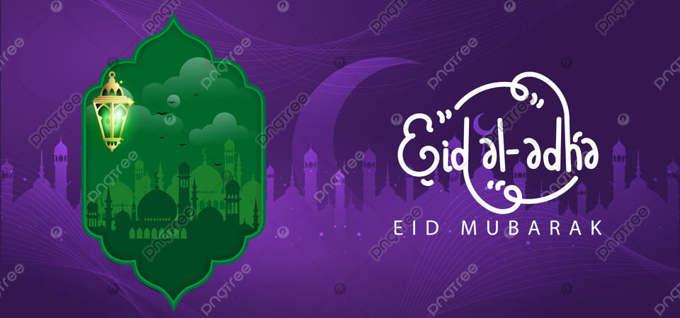 eid al adha purple and green background lamb gold graphic background image for free download https pngtree com freebackground eid al adha purple and green background 1180177 html