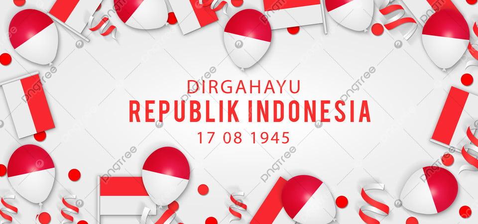 pngtree indonesia independence day hut ri 1945 background merah putih image 353604