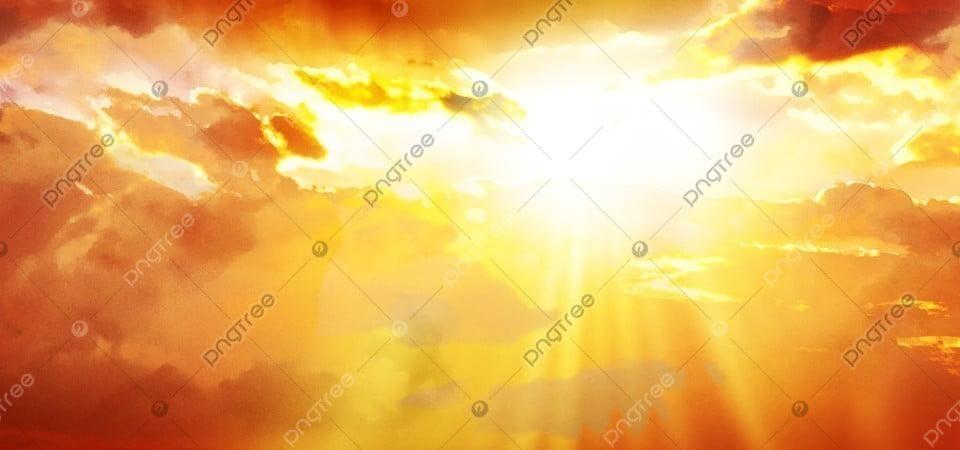 Latar Belakang Matahari Terbenam Latar Belakang Awan Api Yang Indah,  Matahari, Matahari Terbenam, Awan Terbakar Gambar Latar Belakang Untuk  Unduhan Gratis