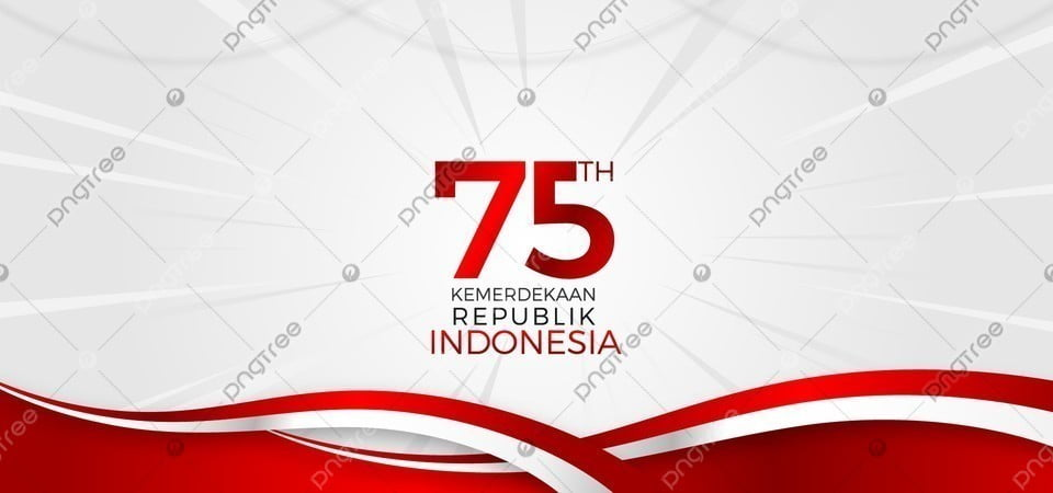pngtree national event indonesia merdeka 75 tahun background image 354045