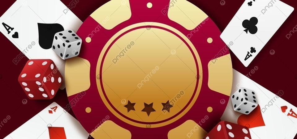 Kasino Taruhan Poker Dadu Latar Belakang Chip Emas Poker Keripik Bingkai Gambar Latar Belakang Untuk Unduhan Gratis