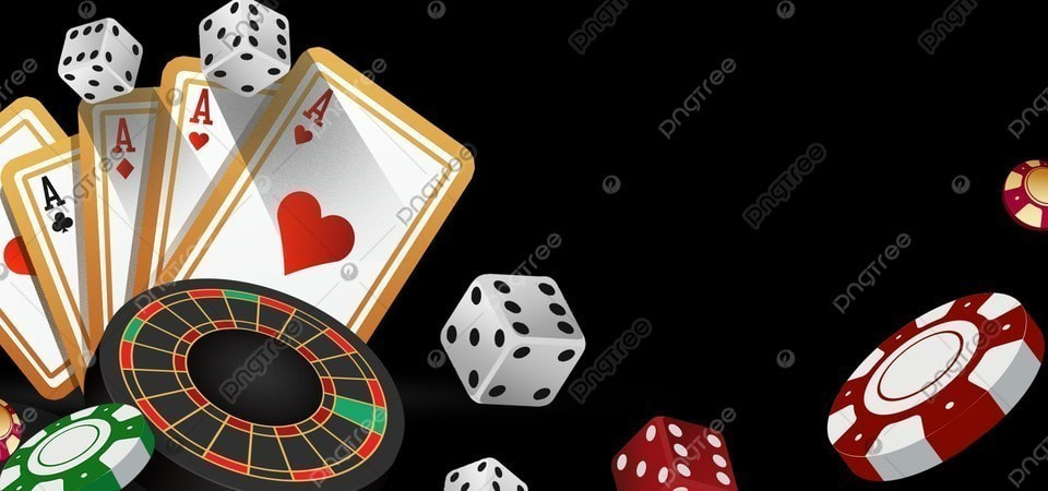 Creative Chip Poker Casino Betting Border Background, Creativity, Frame, Casino Background Image for Free Download