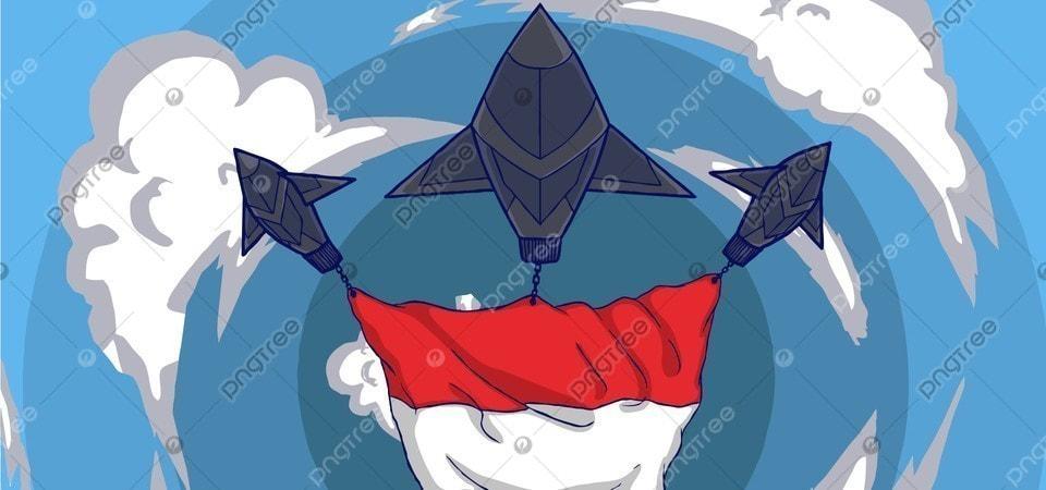 Ilustrasi Sebuah Pesawat Yang Terbang Tinggi Ke Langit Membawa Latar Belakang Bendera Negara Terbang Terbang Penerbangan Gambar Latar Belakang Untuk Unduhan Gratis