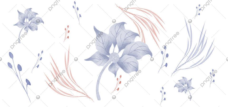 Latar Belakang Desain Abstrak Bunga Daun Bingkai Koleksi Anggun Elemen Gambar Latar Belakang Untuk Unduhan Gratis