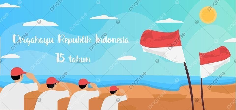 Bendera Hormat Di Background Pulau Indonesia Kontemporer Kebebasan Kemerdekaan Gambar Latar Belakang Untuk Unduhan Gratis