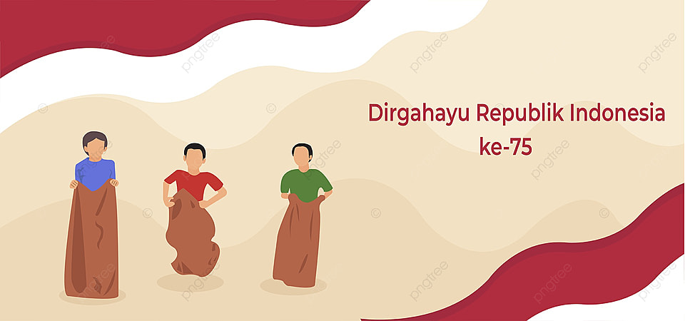 Lomba Balap Karung Kemerdekaan Indonesia Poster Kemerdekaan Merayakan Gambar Latar Belakang Untuk Unduhan Gratis