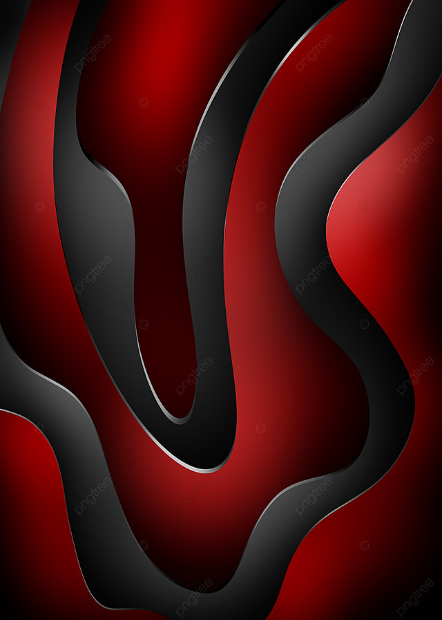 pngtree cool background and premium red and black wavy gradations with a image 389634